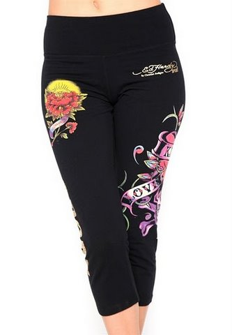 cheap Ed Hardy Leggings-24