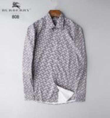 cheap quality Burberry Men Shirts sku 1725