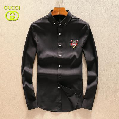 Cheap Gucci Men Shirts wholesale No. 554